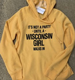 Wisconsin Party Girl Sweatshirt