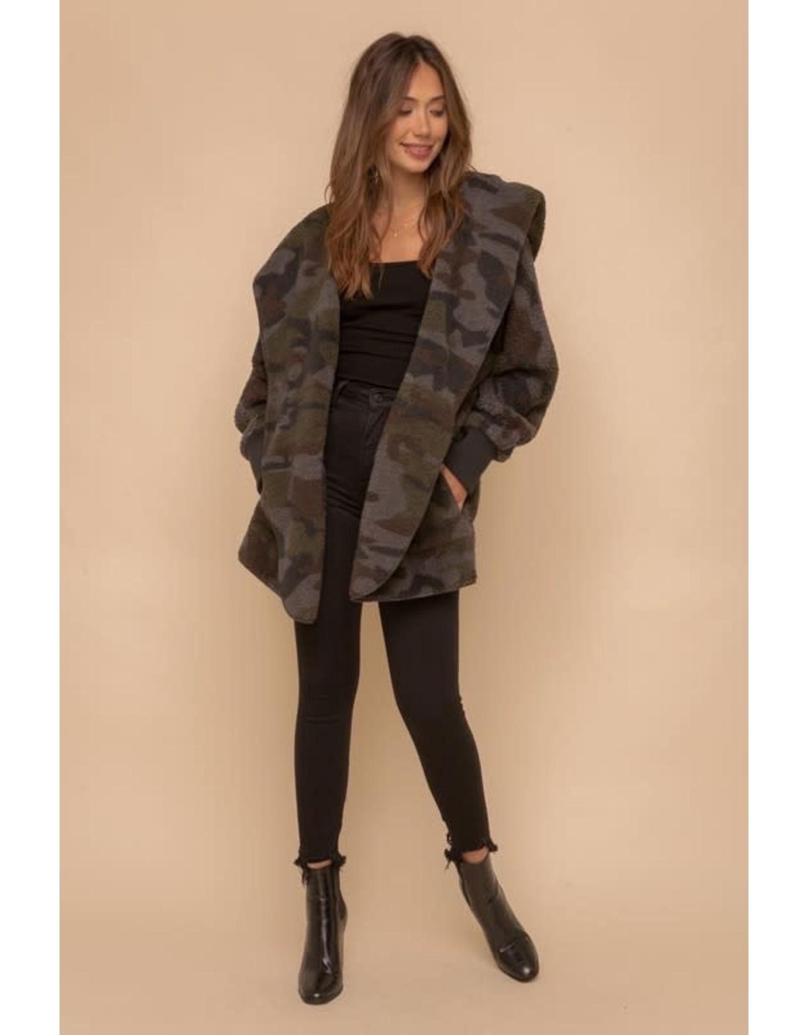 TLC Camo Fur Jacket