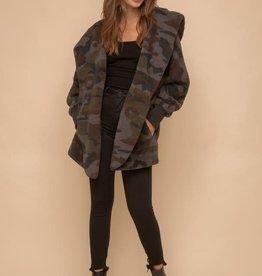 TLC Camo Fur Jacket