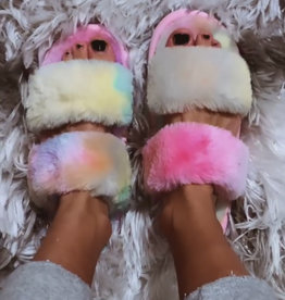 Fur Slippers - more colors!