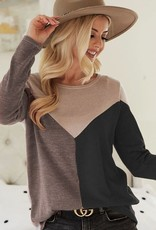 TLC Colorblock Sweater
