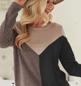 TLC Colorblock Sweater