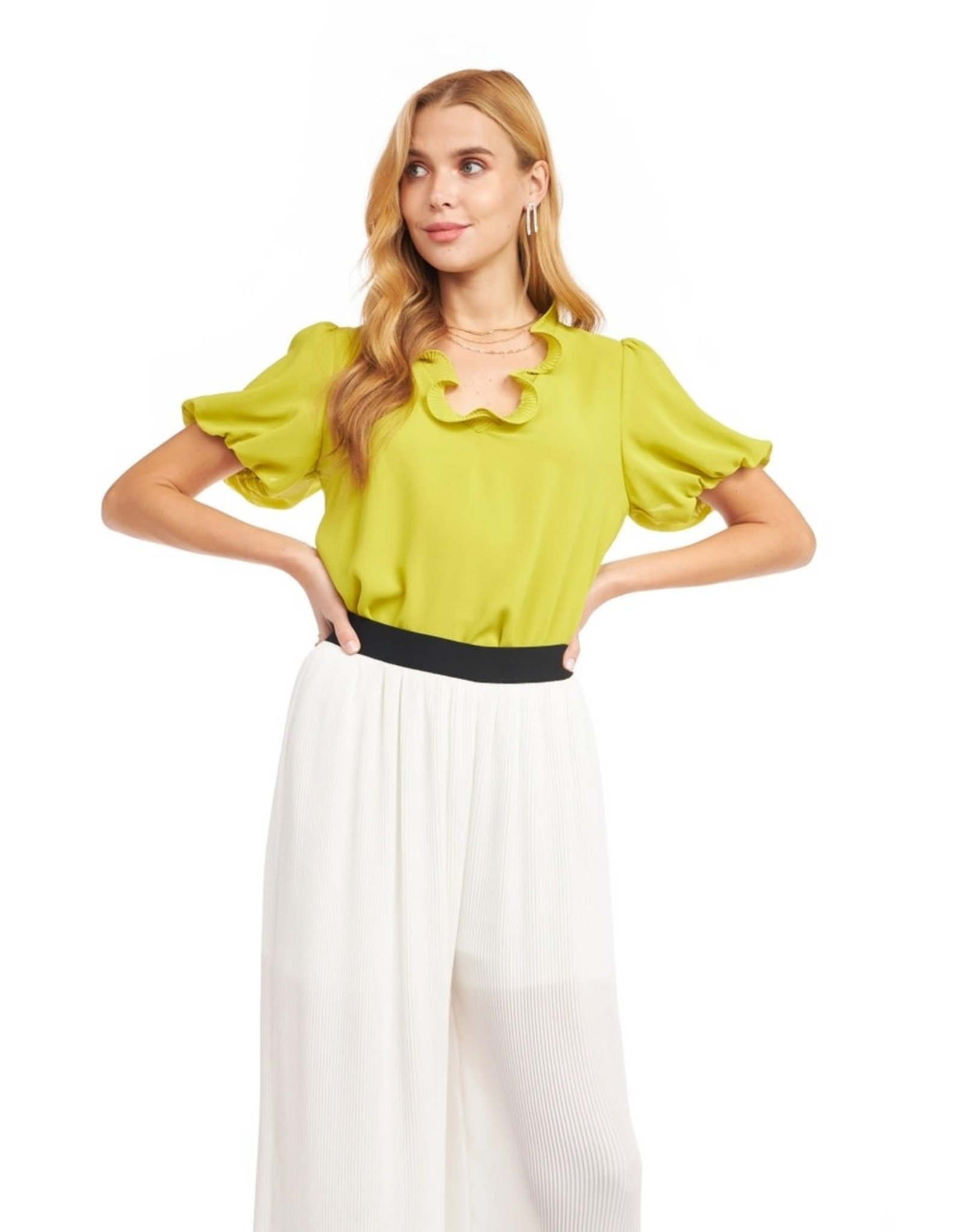TLC The Ruffle Blouse