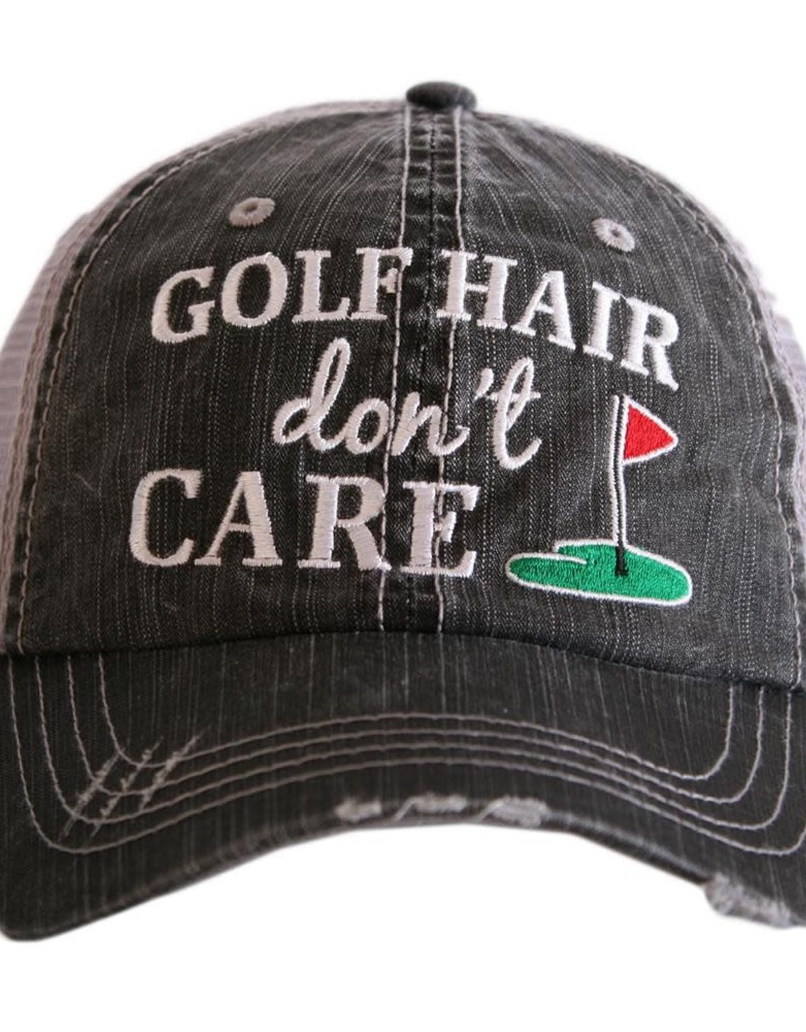 TLC golf hair trucker hat