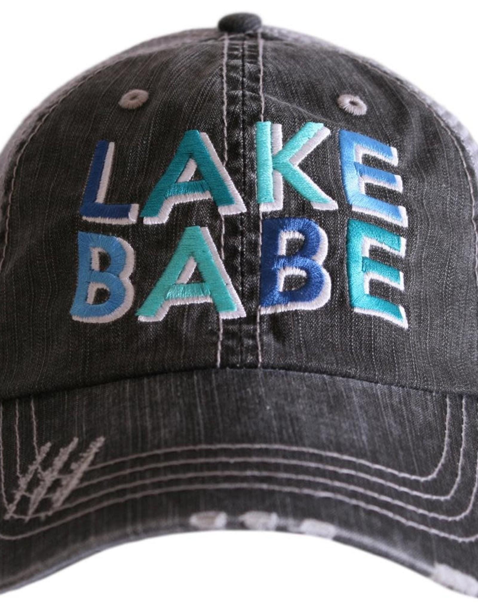TLC lake babe trucker hat