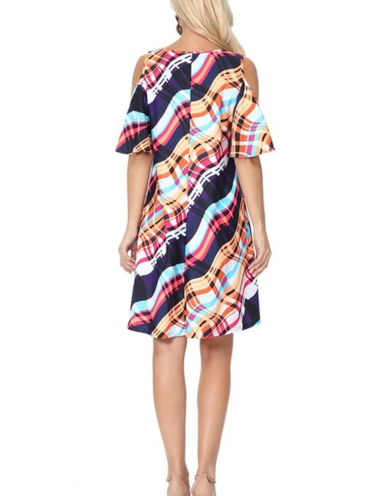 TLC Cold Shoulder Dress