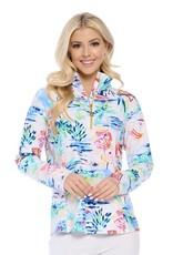 TLC TPY-8516 quarter zip pullover
