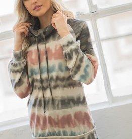 TLC Tie Dye Camo Pullover