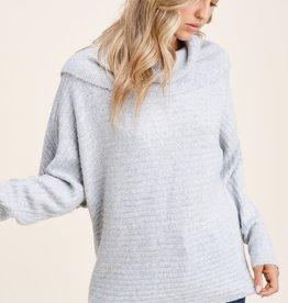 TLC slouchy dolman sleeve sweater