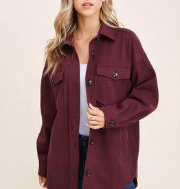 TLC Button down oversize jacket