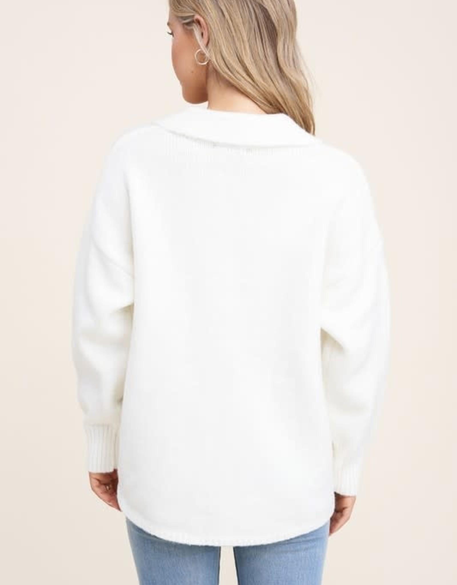 TLC 53251 sweater shacket