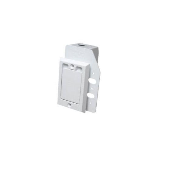 Plastiflex Hayden White Plastic Inlet Valve - Dual Volt