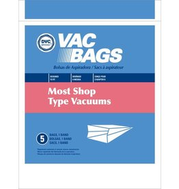 DVC DVC Shop Vac Style Paper Bags (5pk)