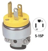Generic CVS Round Plug, Metal Shielded - Male 3-Wire