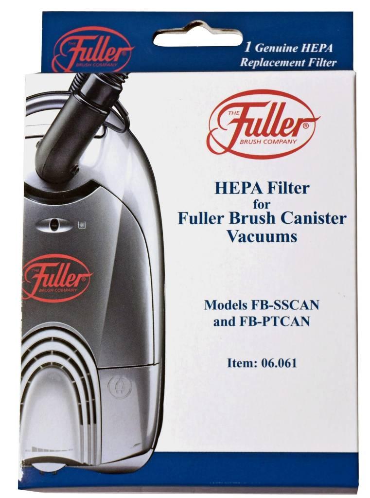 Riccar Fuller Brush HEPA Filter for FBPT2 and FBSSCAN