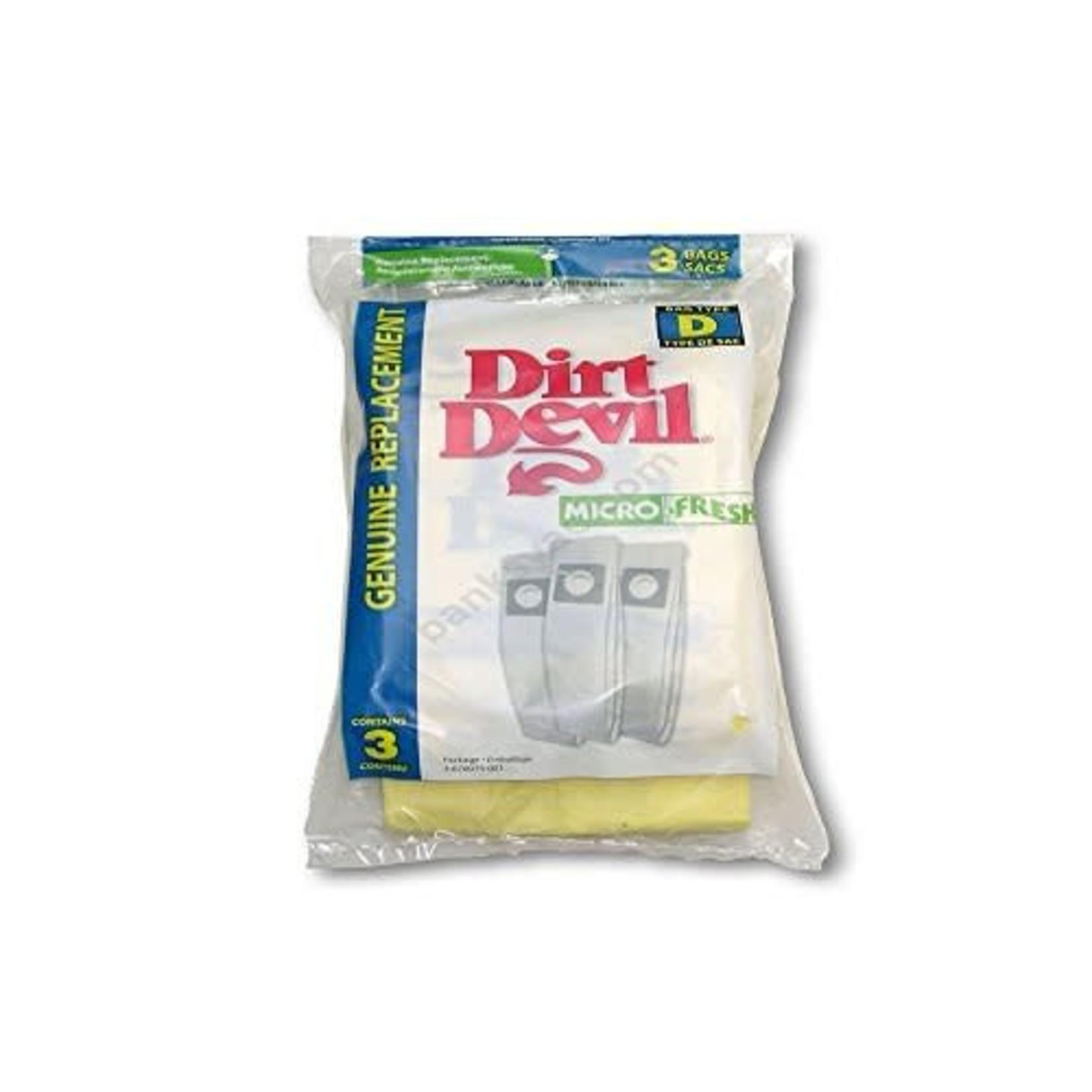 "TTI Dirt Devil Style ""D"" Bags (3pk)"