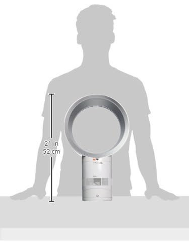 Dyson Dyson AM06 Blade-less Desk and Table Top Fan - White