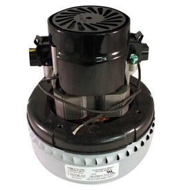 "Lamb Electric Central Vacuum 120 Volt Motor, 5.7"" - 2 Stage - Peripheral Bypass"