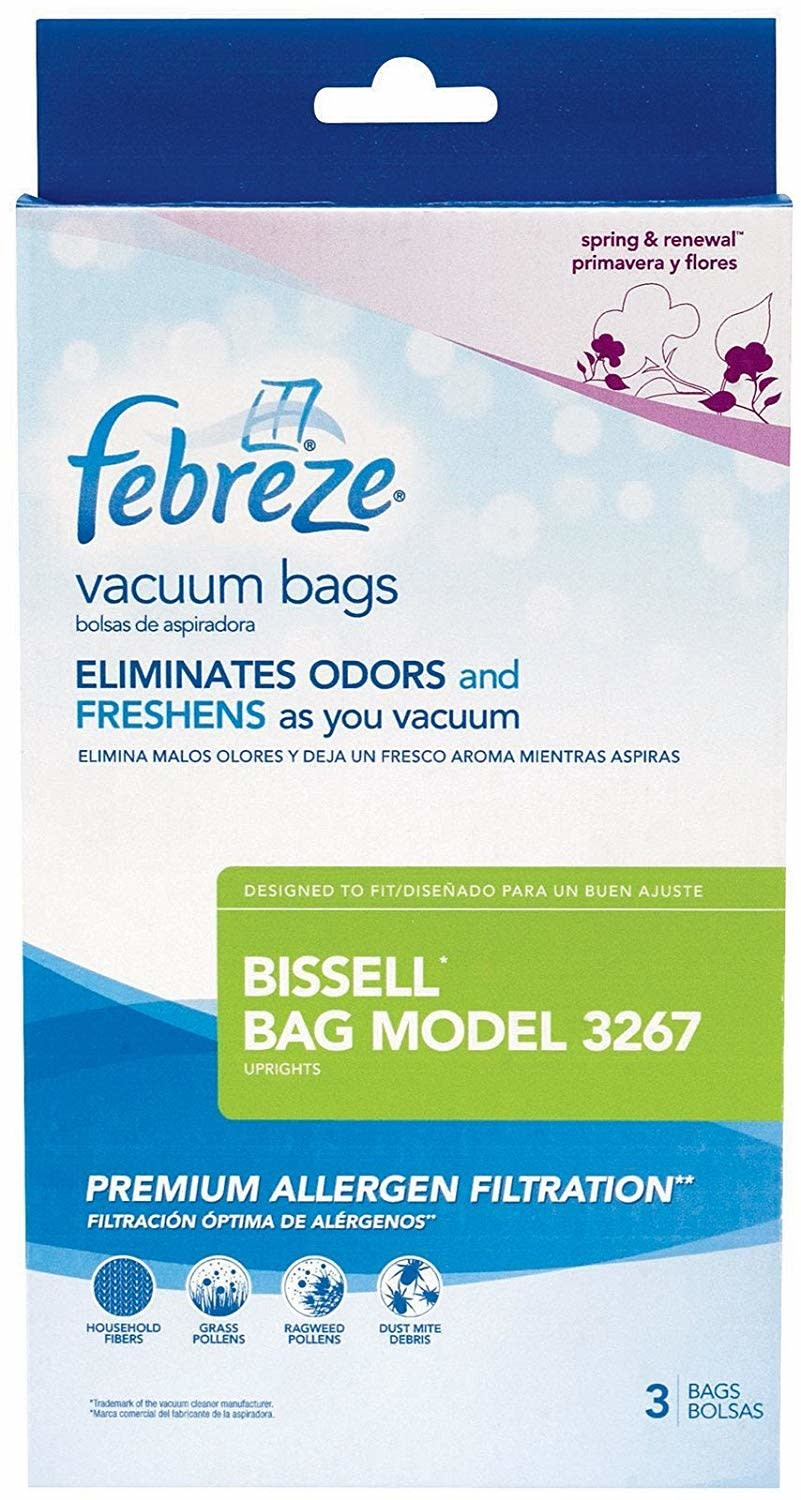 Bissell Bissell by Febreze Paper Bag fits Velocity (3Pk)