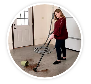 H-P Products Vroom Central Vacuum Retract Vac w/ 30' Hose