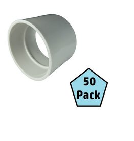 Plastiflex Central Vacuum Pipe Cap, Box of 50