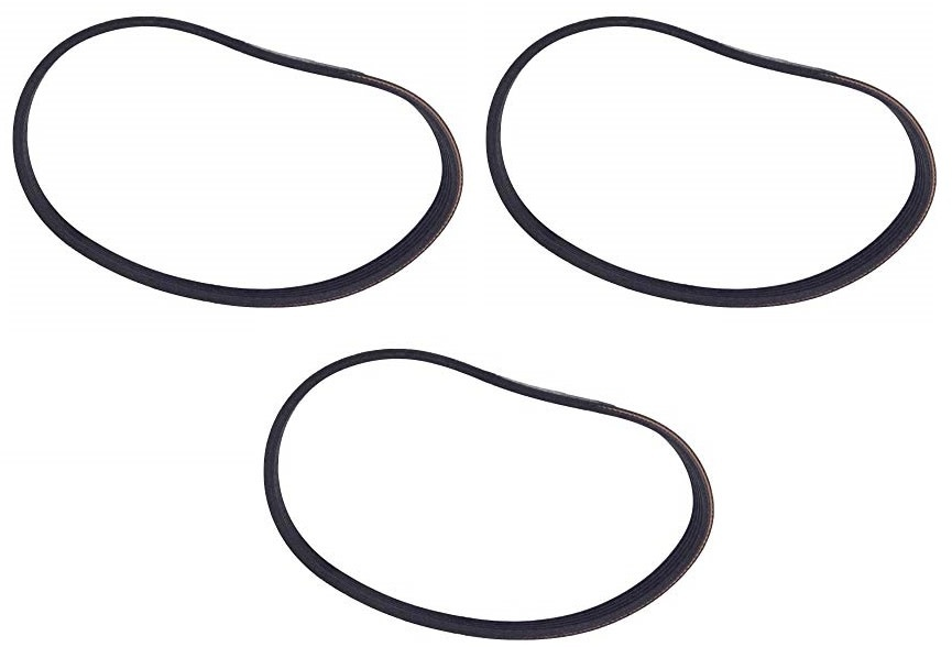 H-P Products Central Vacuum Air Driven Turbo Zoom - Poly-V Belt (3-Pack)