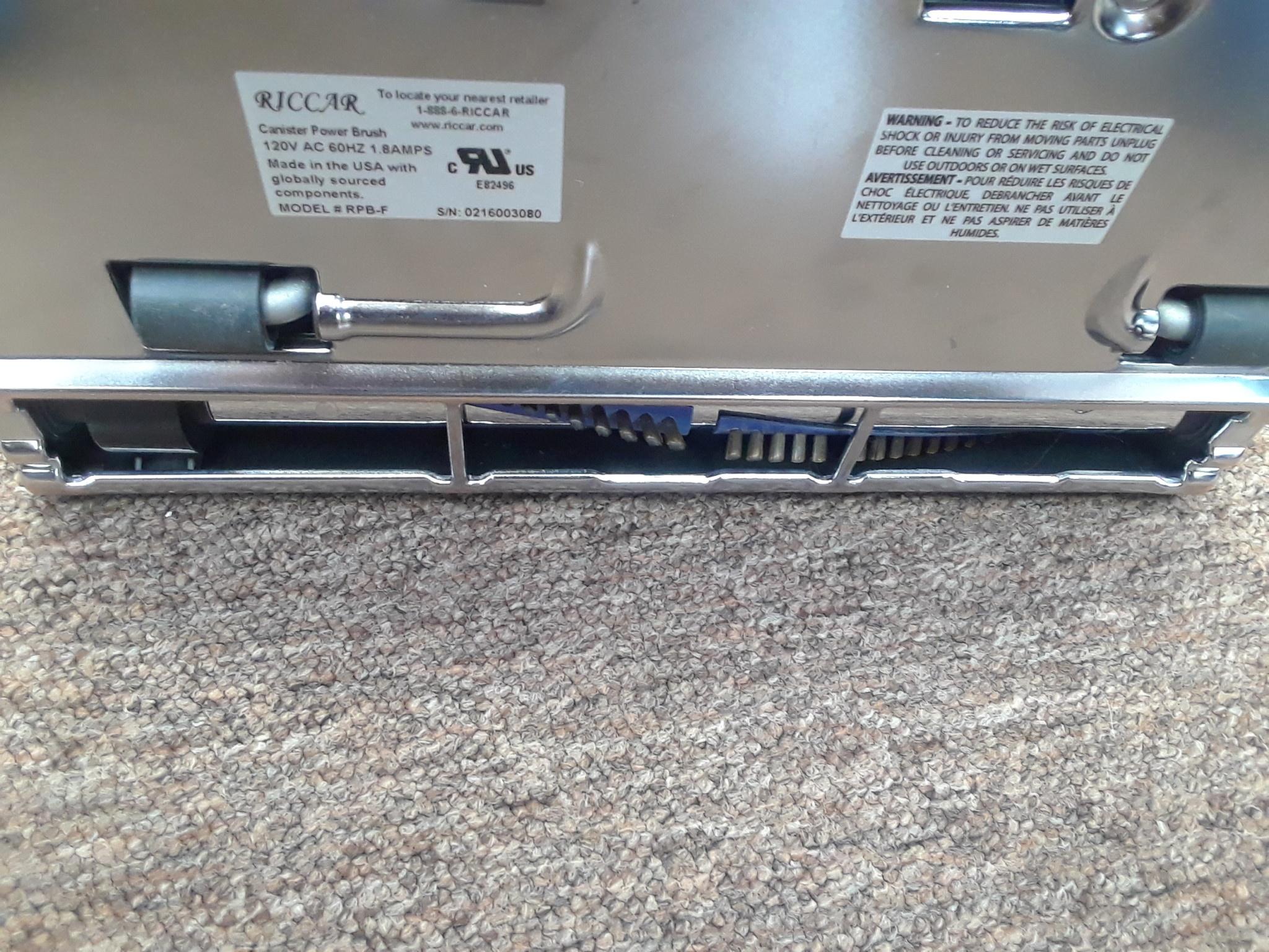 Riccar Refurbished Riccar Power Nozzle