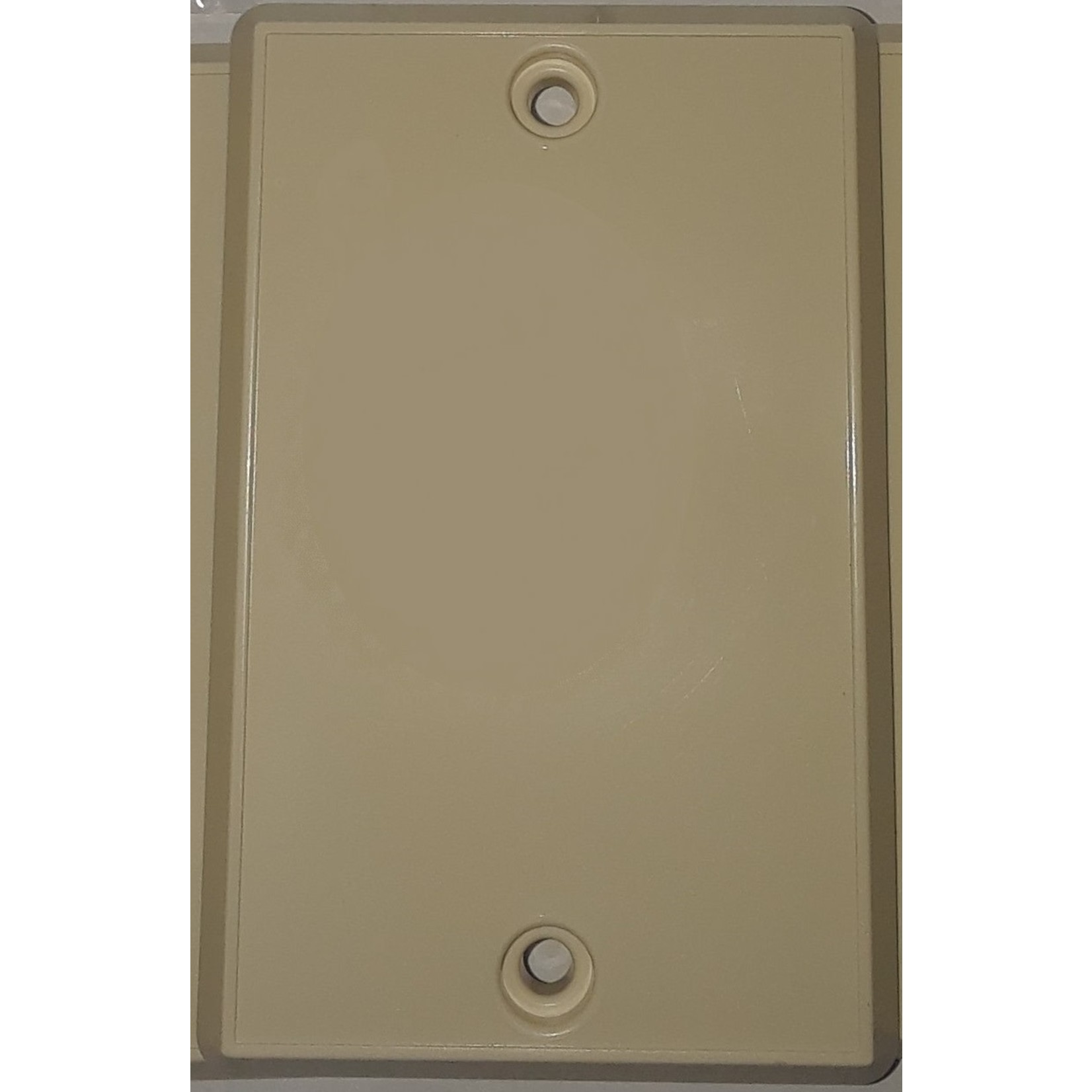 BEAM Central Vacuum Inlet Valve Cover Plate - Ivory