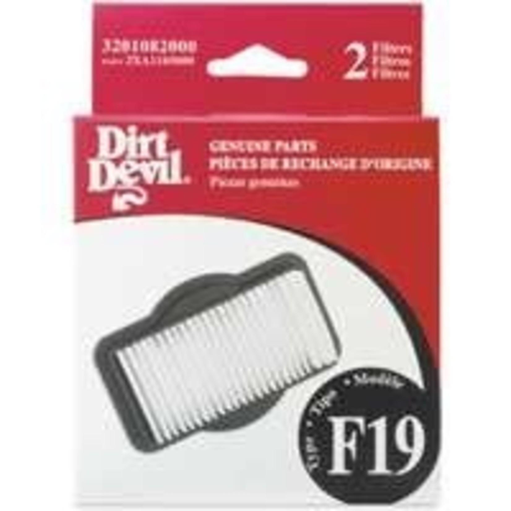 Dirt Devil Dirt Devil Cordless BroomVac Filter (2pk)