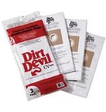 H-P Products Dirt Devil Style CV1500 HEPA Bag (3pk)