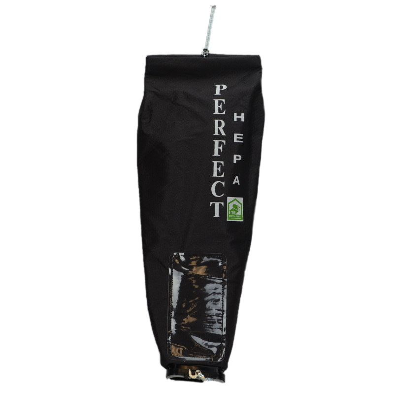 Generic Sanitaire Kent, Clarke and Power Flite Perfect HEPA Outer Bag - Fits ST Bags - Black