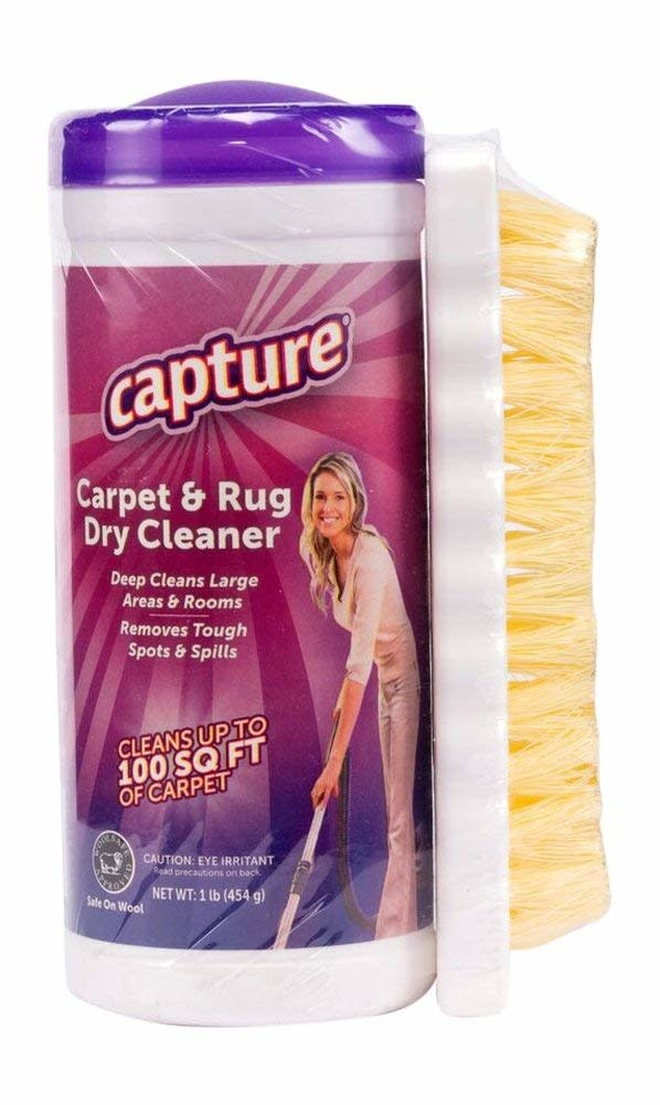 Riccar Capture Carpet Dry Cleaner Powder with Brush