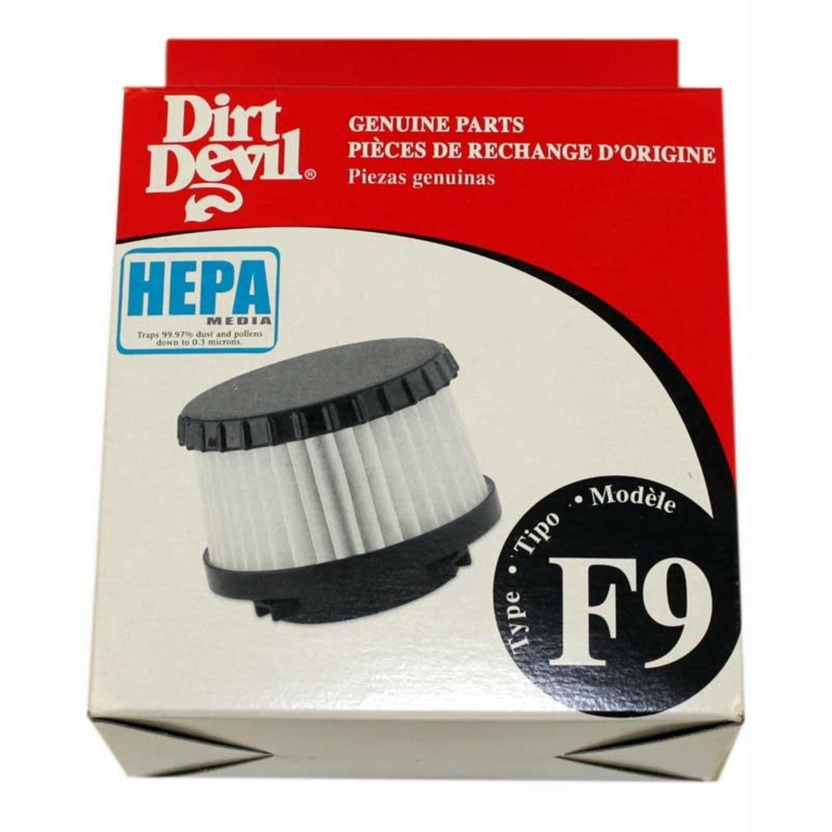 """TTI Dirt Devil Style """"F9"""" HEPA Filter"""