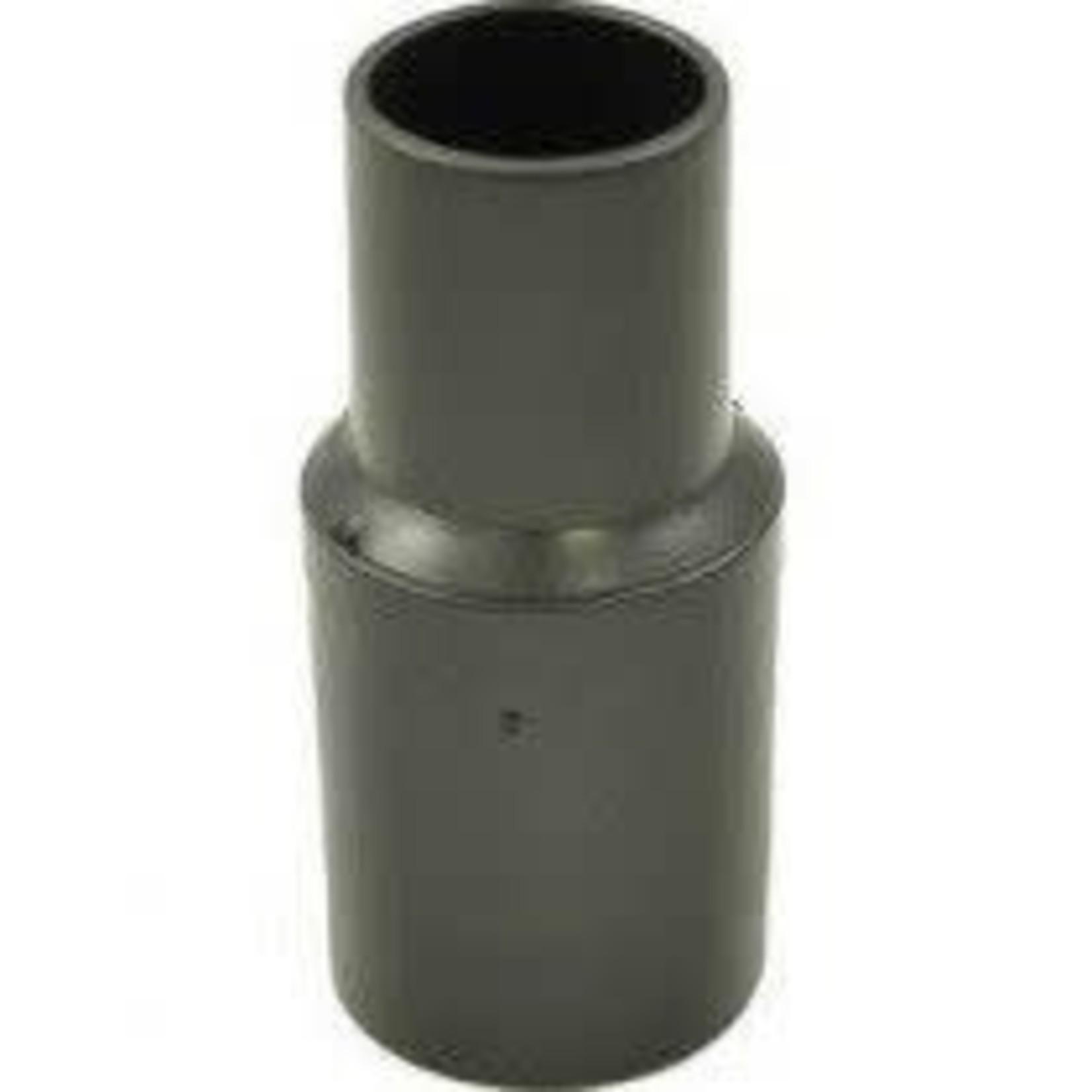 """Centec Central Vacuum 1-1/4"""" Black Hose End w/o Ring"""