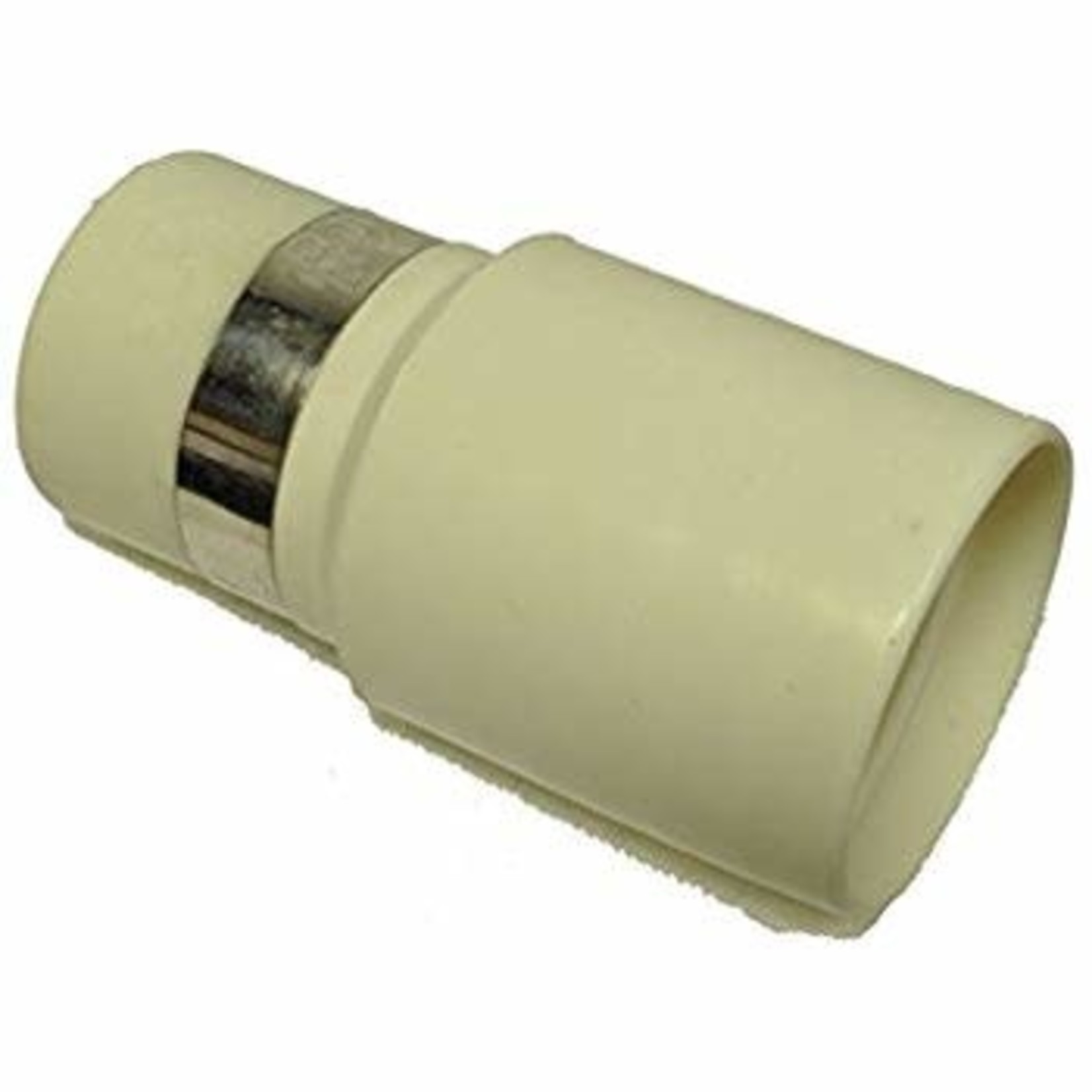 "BEAM Beam 1-3/8"" Hose End w/Ring - Beige"
