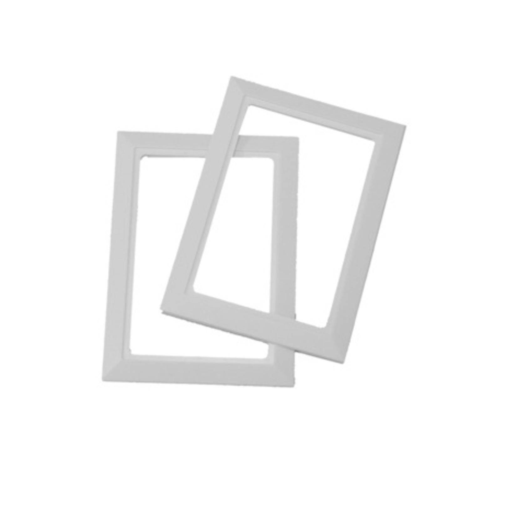 BEAM Central Vacuum Inlet Valve Trim Plate - White