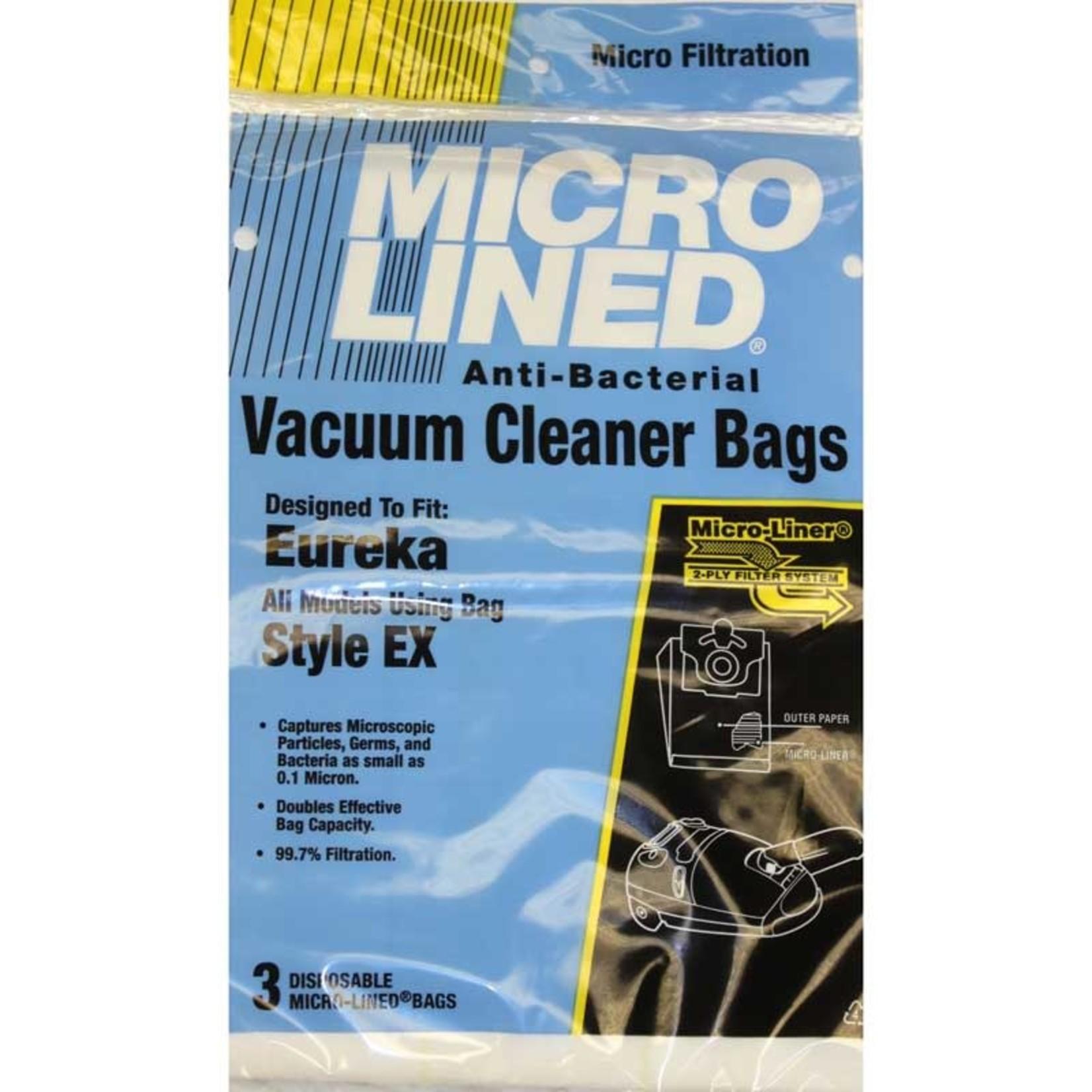 """Electrolux DVC Eureka Style """"EX"""" Bags (3pk)"""