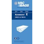 """Kenmore DVC Kenmore Style """"5023"""" & """"5033"""" Paper Bag"""