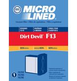 """TTI Dirt Devil Style """"F13"""" HEPA Filter"""