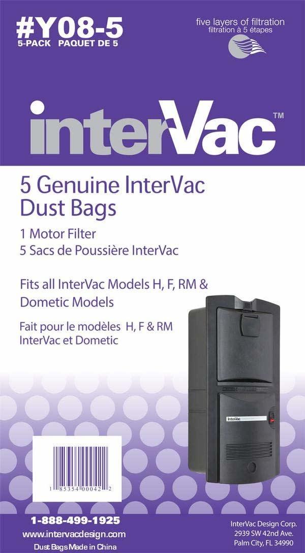 Intervac Intervac GarageVac Paper Bags - Y08-5/pkg