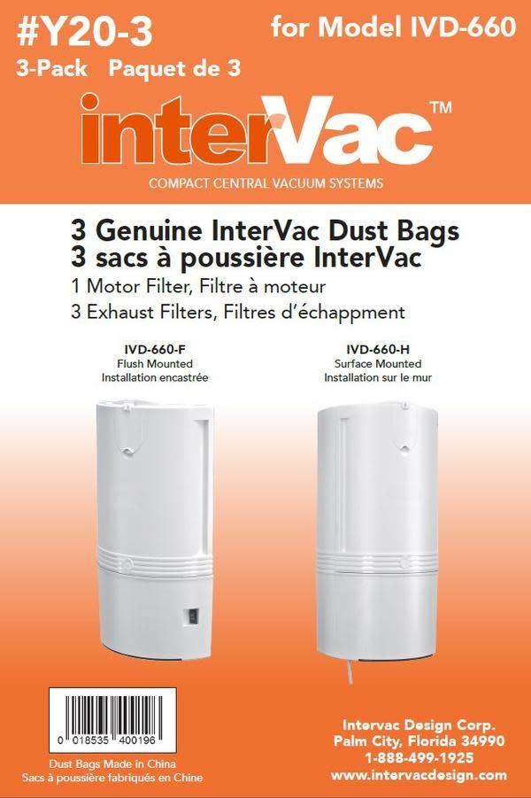 Intervac Intervac CondoVac Paper Bags (2-Hole)