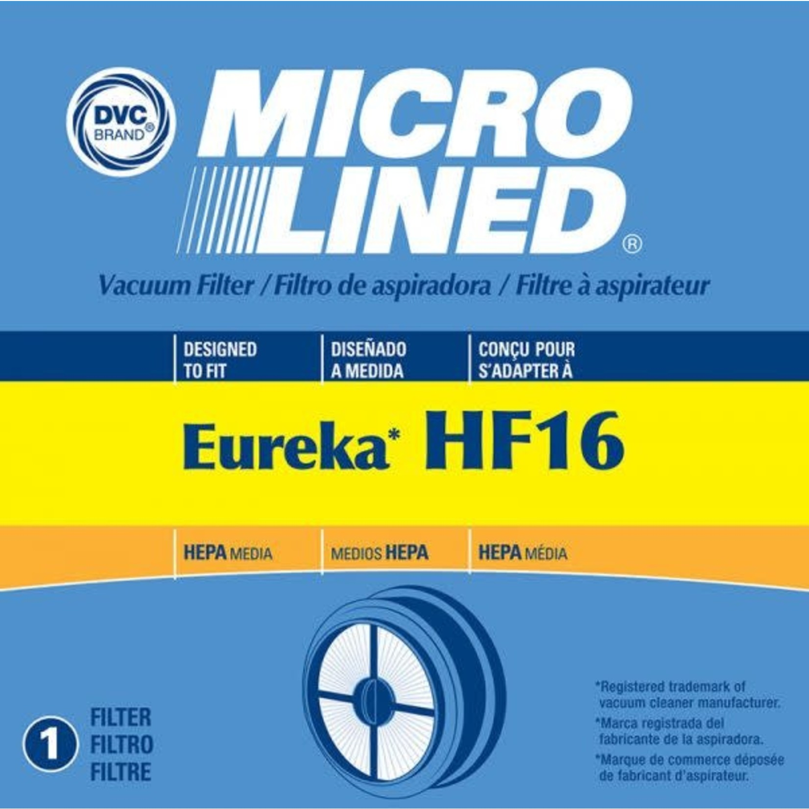 Electrolux Copy of Eureka Style HF-16 Filter (Also Fits Hoover Air)