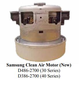 Riccar Riccar R30 & Simplicity S30 New Style Clean Air Motor
