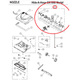 Riccar Riccar CX1000 Motor Assembly w/ Fan & Housing