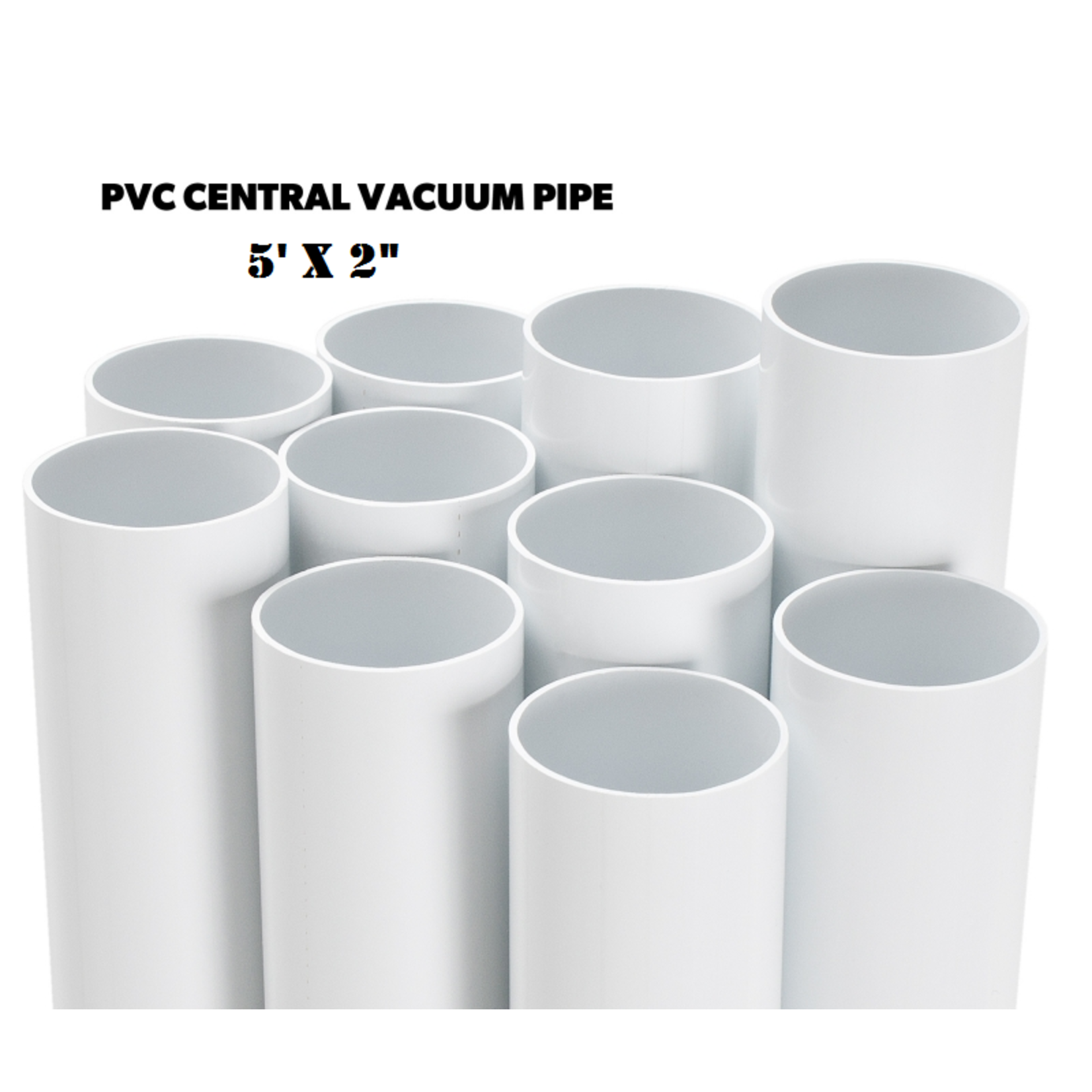 "BEAM Central Vac Pipe 2""x 59"" Long"
