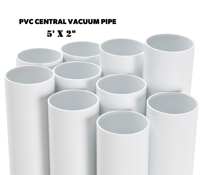 BEAM Central Vac Pipe 5' Stick (Box of 16 Sticks)