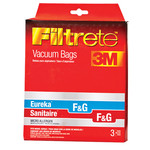 "3M Filtrete 3M Eureka/Sanitaire Style ""F&G"" Bags - (Box of 6)"