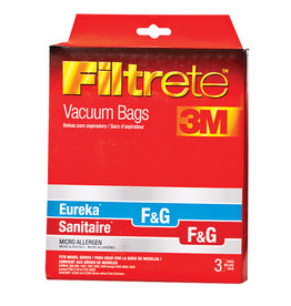"""3M Filtrete Eureka/Sanitaire Style """"F&G"""" Micro Allergen Bags - 3 Pack"""