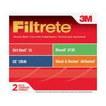 3M Filtrete Dirt Devil & Royal Style 15 Belt - 2pk