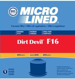 DVC DVC Dirt Devil F16 HEPA Filter